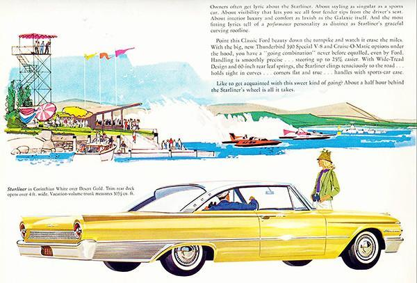 Primary image for 1961 Ford Starliner - Promotional Advertising Poster