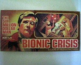 The Six Million Dollar Man Bionic Crisis, Parker Brothers- Vintage 1975 - $19.00