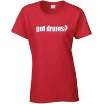 Got Drums Drummer Musician Ladies T Shirt image 9