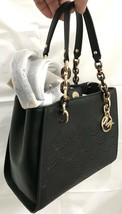 MICHAEL KORS SOFIA MD NS TOTE IN SPECCIO BACKED LASER CUT SAFFIANO LEATH... - $89.09