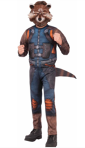 Guardians of The Galaxy Vol.2 Muscle Chest Rocket Raccoon Costume Medium (8-10) - $17.23