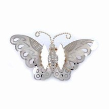 Vintage Brooch Goldtone Butterfly Pin 1950S - $17.00