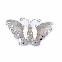 Vintage Brooch Goldtone Butterfly Pin 1950S - $17.00