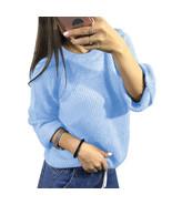 Women Knitwear Sweaters Jumper Long Sleeve Sexy Autumn Female Pullovers ... - $37.14+