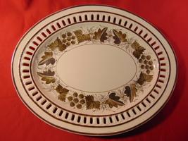 Josiah Spode, 18th Century, Oval Pierced Rim, Creamware Platter/Tureen U... - $379.99