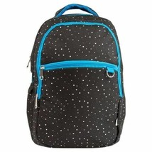 "Yoobi 18"" Classic Backpack & Laptop Sleeve - Black Galaxy Print NWT"