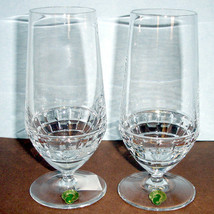 Waterford Crystal London Beer Iced Beverage Glass SET/2 Jo Sampson #40000114 New - $148.90