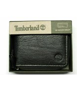 Timberland Men's Black Leather Zip around Wallet - New in Box - $8.86