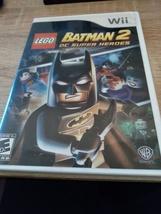 Nintendo Wii LEGO Batman 2: DC Super Heroes & Green Lantern Movie Combo image 1