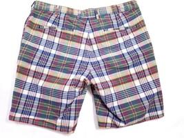 Polo Ralph Lauren Men's Shorts Plaid Reversible 100% Cotton Sz 35 Nwt $98 - $53.97