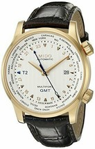 Mido M0059293603100 Multifort Mens Watch - White Dial Stainless Steel Case  - $1,190.35