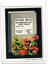 1974 Wacky Packages Original 6th Series *SCARE DEAL* Sticker Card - $2.49
