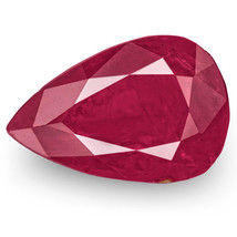 IGI Certified TAJIKISTAN Ruby 2.32 Cts Natural Untreated Deep Pinkish Re... - $3,480.00
