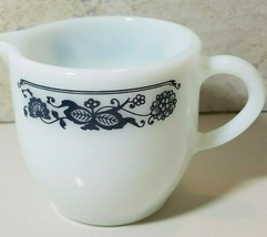 Pyrex Old Town Blue Onion Small Creamer Pitcher  - $10.84