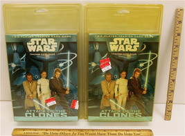 Two 2002 Star Wars Trading Card Game Attack Of The Clones Two Player WOT... - $14.01