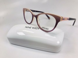 New Nine West NW5135 551 Plum Gradient Eyeglasses 49mm with Case - $49.45