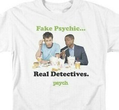 Fake Psychics Real Detectives T-shirt Psych TV series graphic tee NBC912 image 2