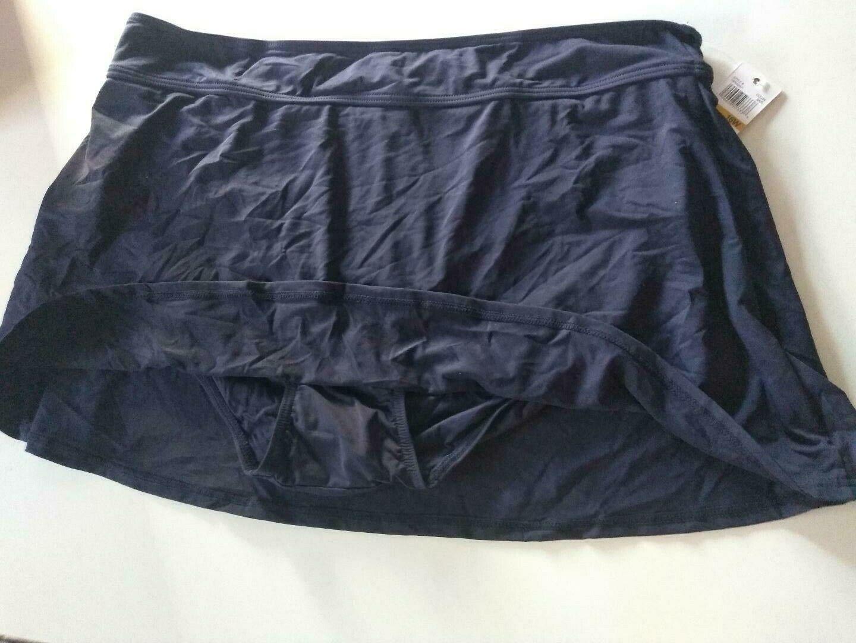 Anne Cole Navy Swimwear Shorts Size 16W