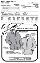 Adult's Polar Lodge Jacket Coat #532 Sewing Pattern (Pattern Only) gp532 - $8.00