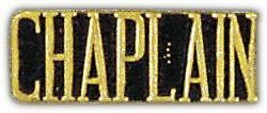 United States Army Military Chaplain Gold Lapel Pin - $13.53