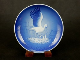 """Bing & Grondahl 6"""" Mother's Day Plate, 1984, Mother Seagull & Chicks, #P... - $6.81"""