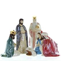 Hagen Renaker Nativity 6 Piece Figurine Set