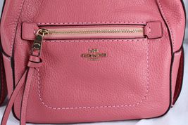 Coach Andi Pebbled Leather Backpack Peony - $119.00