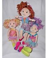 Manhattan Toy Groovy Girls Doll Lot Phoebe Belisima Poseable Selia - $19.78