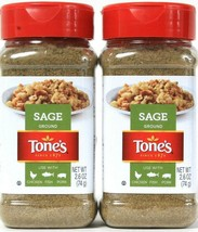 2 Count Tone's 2.6 Oz Ground Sage GF No MSG Use With Chicken Fish Pork B... - $14.99