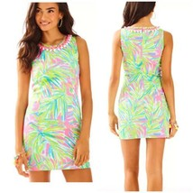 Size 2 Brand New With Tag Lilly Pulitzer Tiki Pink Royal Lime Mila Shift... - $128.21