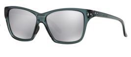 Oakley Hold Out Sunglasses OO9298-03 Crystal Black Frame W/ Chrome Iridium Lens - $39.59