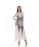 Halloween Sexy Zombie Costume Dress Cosplay Game Uniform Devil And Ghost... - $24.90