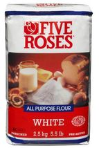 Five Roses All Purpose White Pre Sifted Flour 2 x 5.5lb bags Canada - $79.99