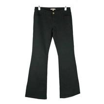 """CAbi Jeans 6 Black Stretch Denim Mid Rise Flare 34"""" inseam - $19.85"""