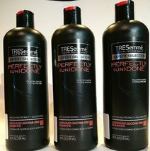 3 PACK Tresemme Perfectly Undone Shampoo Weightless Silicone Free Shampoo 25 oz - $45.02