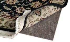 4' X 6' Ultra Plush Non-Slip Rug Pad for Hard Surfaces and Carpet