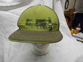 trucker hat baseball cap OAKLEY cool cloth vintage size 7 3/8 flat bill brim  - $39.99