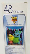 Disney Pixar Toy Story 4 48 Pc Jigsaw Puzzle - New - Ducky & Bunny - $8.99