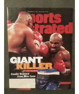 November 18 1996 Evander Holyfield Mike Tyson Boxing Sports Illustrated ... - $4.70
