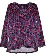 Women's NWT Velour Fleece PJ Lounge Tunic Top w/ Thumb Holes - 4 Colors - $27.69