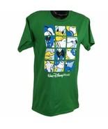 Disneyland Walt Disney world Donald duck Green Size Small window pane t-... - $17.81