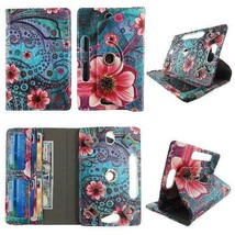 "Pink Flower Paisley Tablet Case 8 Inch  For Hp Stream 8"" 8Inch Android Tablet Ca - $19.17 - $28.75"