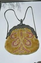 Antique Victorian Clutch purse Monogram M.W.G. Ornate Frame Purse Clutch... - $46.71