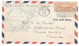 1938 Pasadena California Golden Jubilee Tournament of Roses Cover w/ C19! - $7.69