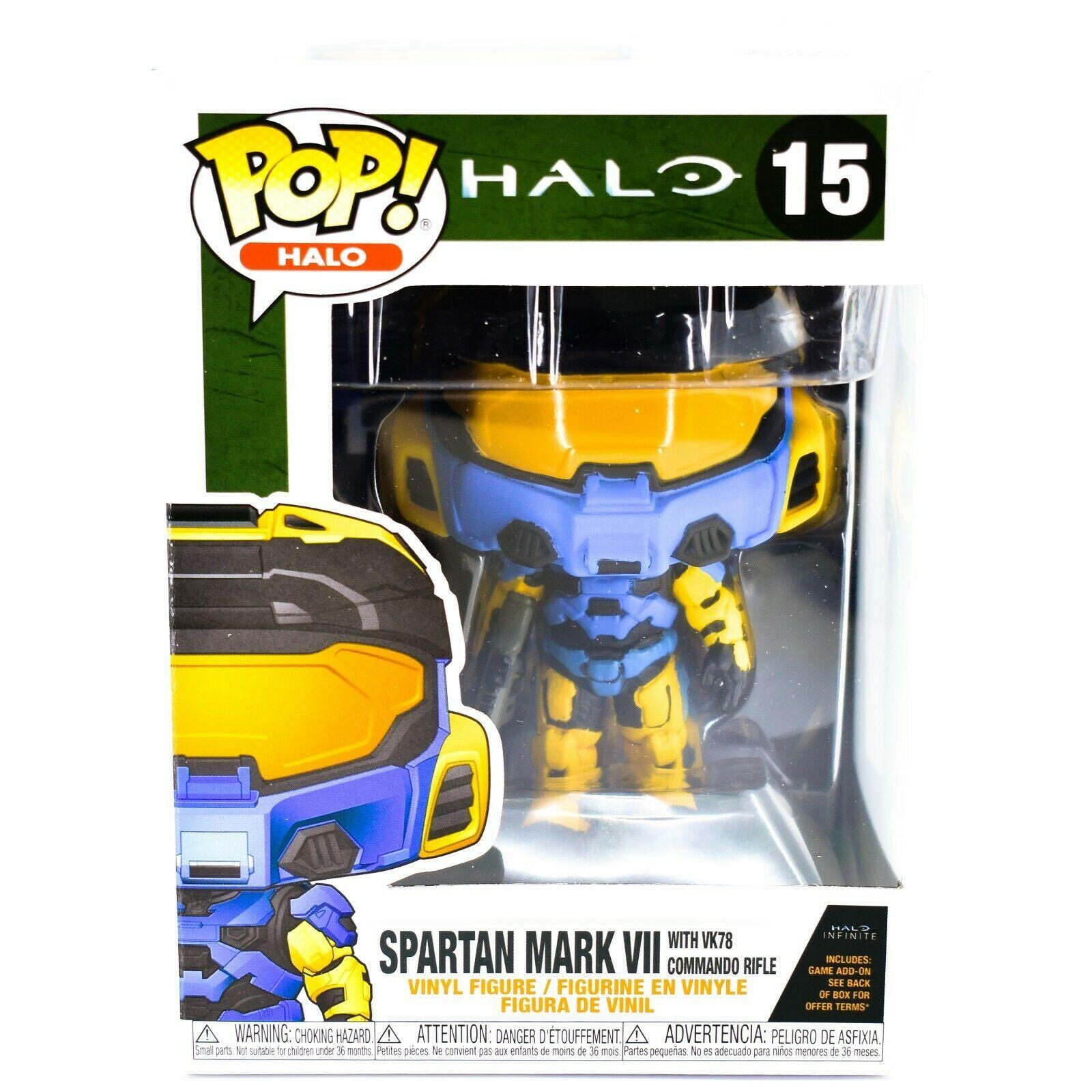 Funko Pop! Halo Infinite Spartan Mark VII Deco #15 Vinyl Figure w Game Add-On