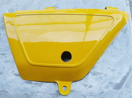 Suzuki TS100 TS125 DS100 (1978-1979) Left Side Cover LH - Yellow New - $11.26