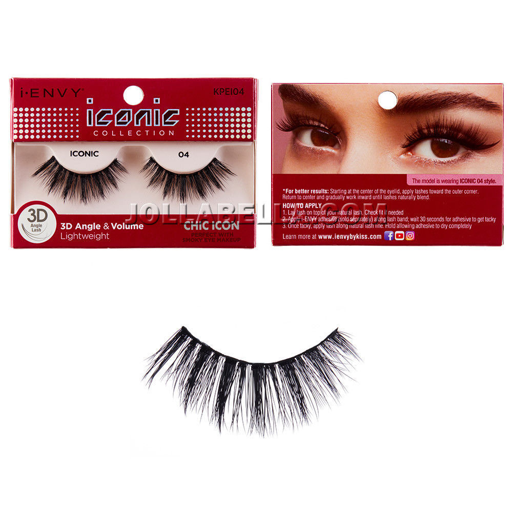 b832b4df111 i Envy iconic 3D Angle & Volume False Eyelashes w/ Smoky Eye Makeup - Chic