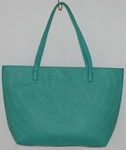 Madison West Product Number BGW10511 Extra Large Turquoise Shoulder Bag In Bag image 2