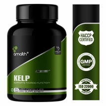 Amalth Kelp Laminariales Extract Powder Support Thyroid 10000mg -4500 Caps - $291.55