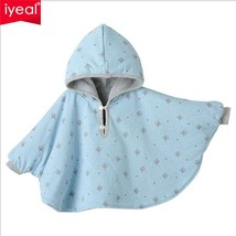 Baby Cloak Two-sided Wear Newborn Winter Thick Coat Jacket Infant Outwear - $27.29 CAD+